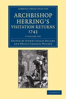 Abbildung von Ollard / Walker | Archbishop Herring's Visitation Returns, 1743 5 Volume Set | 2013