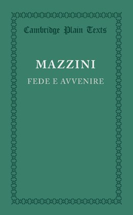 Abbildung von Mazzini | Fede e avvenire | 2013
