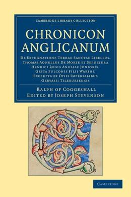 Abbildung von Stevenson   Chronicon Anglicanum   2012   De expugnatione Terrae Sanctae...