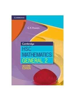 Abbildung von Powers | Cambridge HSC Mathematics General 2 | 2013