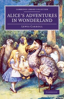 Abbildung von Carroll   Alice's Adventures in Wonderland   2013
