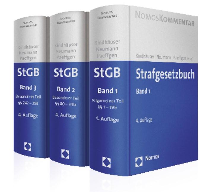 Strafgesetzbuch (StGB) | Kindhäuser / Neumann / Paeffgen (Hrsg.) | 4. Auflage, 2013 | Buch (Cover)
