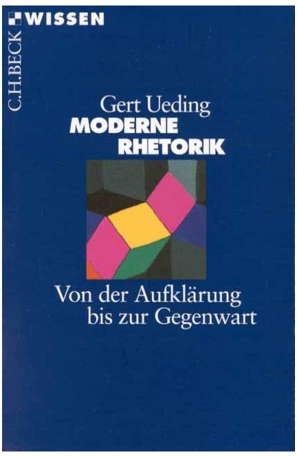 Cover: Gert Ueding, Moderne Rhetorik