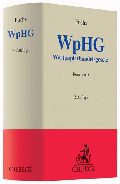 Wertpapierhandelsgesetz (WpHG) | Fuchs | 2. Auflage, 2016 | Buch (Cover)