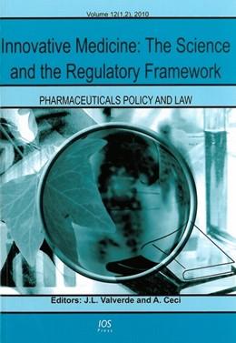 Abbildung von Valverde / Ceci   Innovative Medicine: The Science and the Regulatory Framework   2010