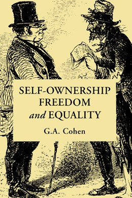 Abbildung von Cohen | Self-Ownership, Freedom, and Equality | 1995