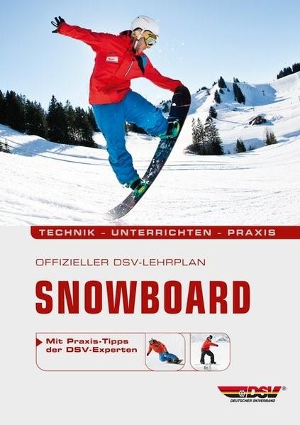 Offizieller DSV-Lehrplan Snowboard, 2012 | Buch (Cover)