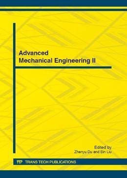 Abbildung von Du / Liu | Advanced Mechanical Engineering II | 2012 | Volume 192