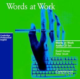 Abbildung von Horner / Strutt | Words at Work Audio CD Set (2 CDs) | 1997