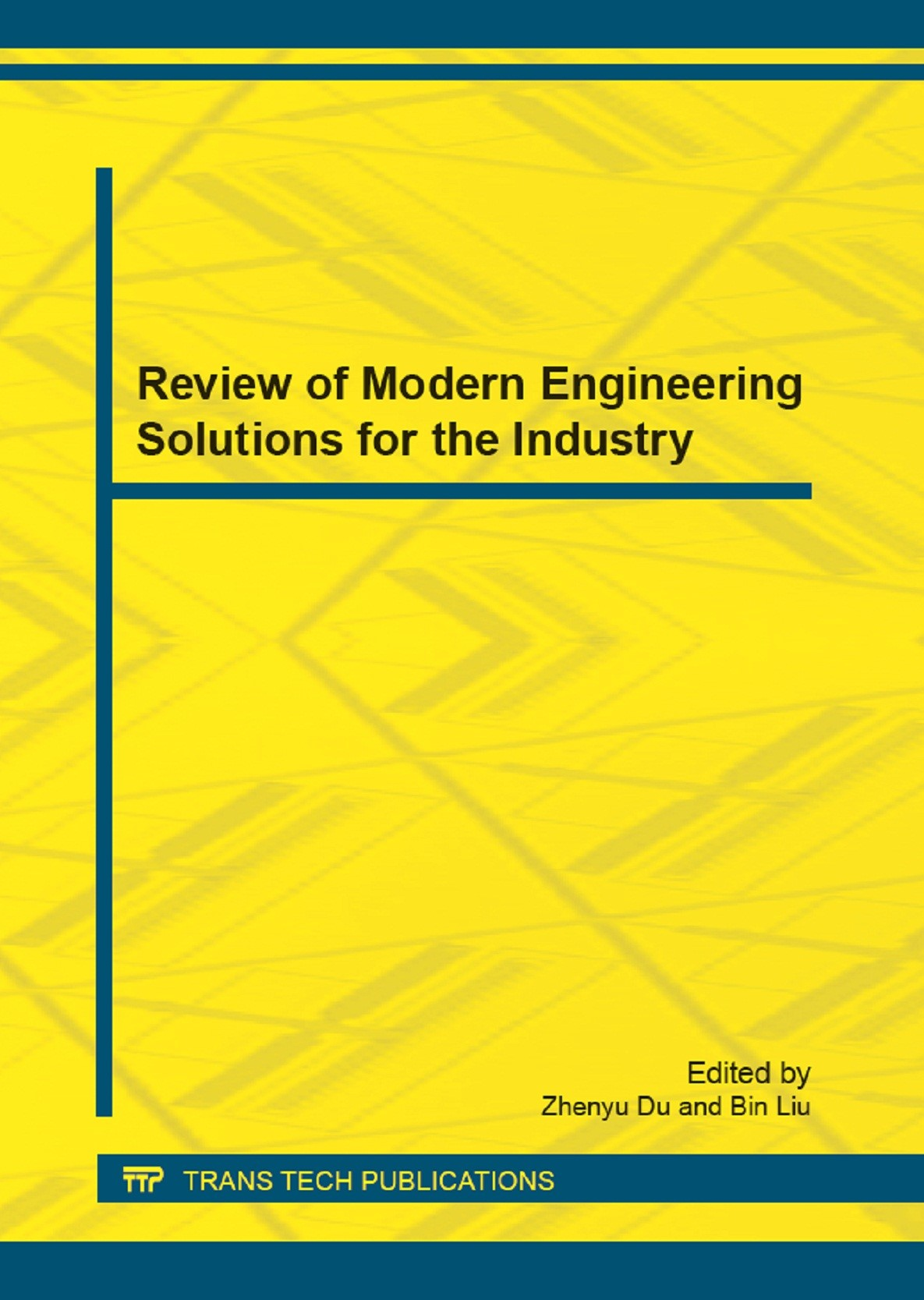 Review of Modern Engineering Solutions for the Industry | Du / Liu, 2012 | Buch (Cover)