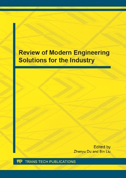 Abbildung von Du / Liu | Review of Modern Engineering Solutions for the Industry | 2012 | Volume 203