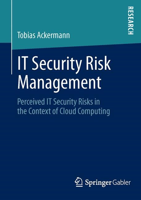 IT Security Risk Management | Ackermann, 2013 | Buch (Cover)