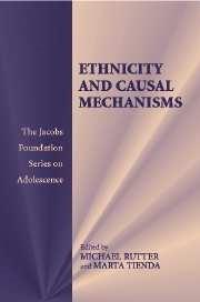 Abbildung von Rutter / Tienda | Ethnicity and Causal Mechanisms | 2005