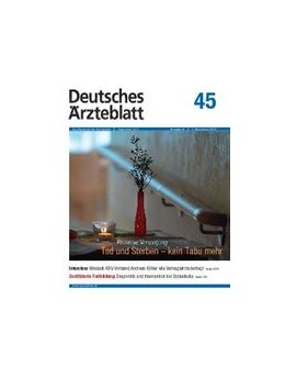 Abbildung von Deutsches Ärzteblatt | 117. Jahrgang | 2020