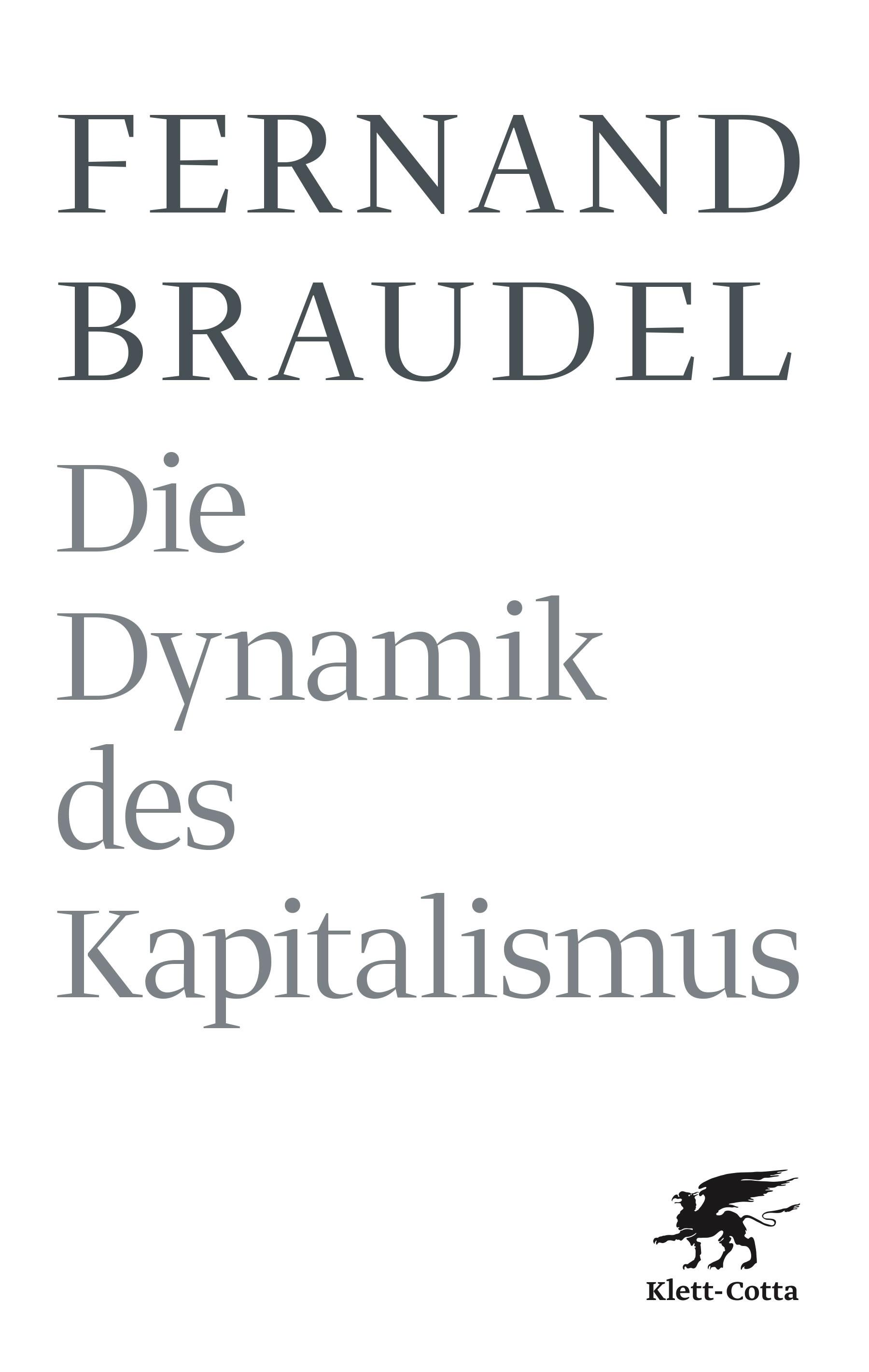Die Dynamik des Kapitalismus | Braudel | 6., Druckaufl., 2011 | Buch (Cover)