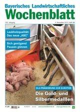 Bayerisches Landwirtschaftliches Wochenblatt | 208. Jahrgang (Cover)