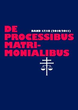 Abbildung von Selge / Güthoff   De processibus matrimonialibus   1. Auflage   2016   18   beck-shop.de