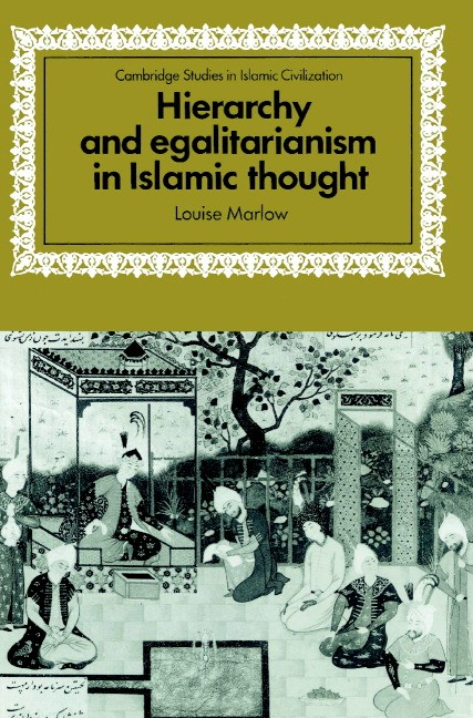 Abbildung von Marlow | Hierarchy and Egalitarianism in Islamic Thought | 2002