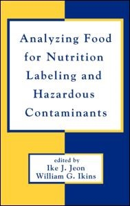 Abbildung von Jeon | Analyzing Food for Nutrition Labeling and Hazardous Contaminants | 1994