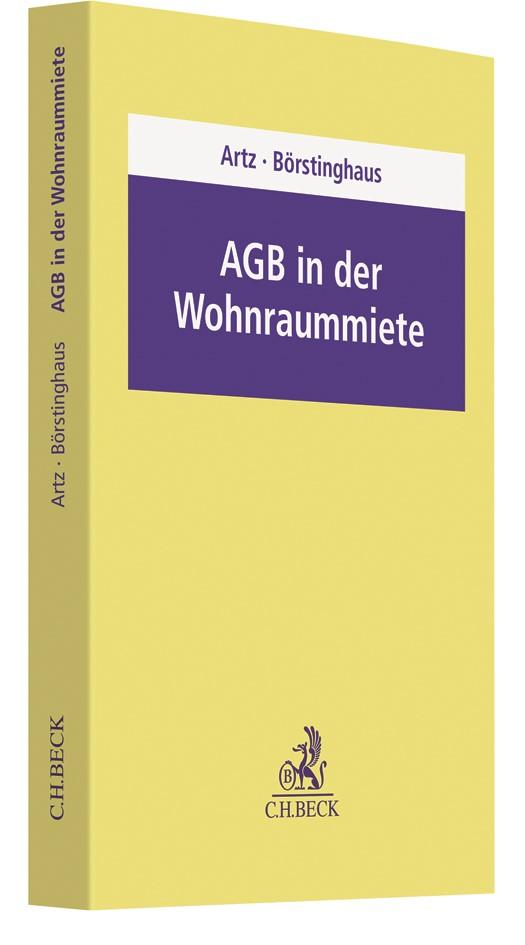 Abbildung von Artz / Börstinghaus   AGB in der Wohnraummiete   2019