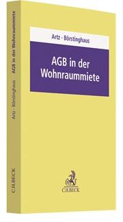 AGB in der Wohnraummiete | Artz / Börstinghaus, 2018 | Buch (Cover)