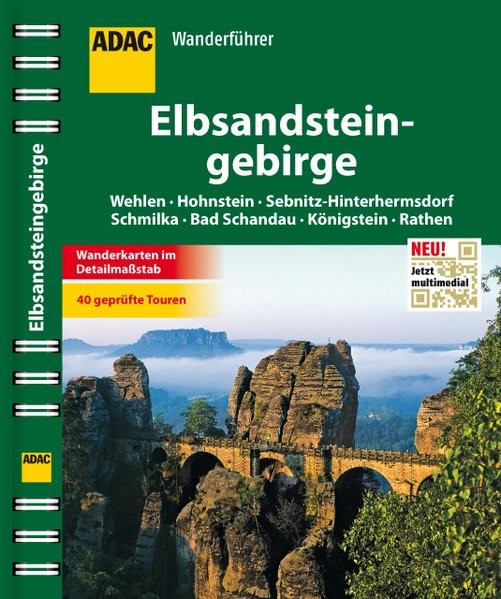 ADAC Wanderführer Elbsandsteingebirge, 2013 | Buch (Cover)