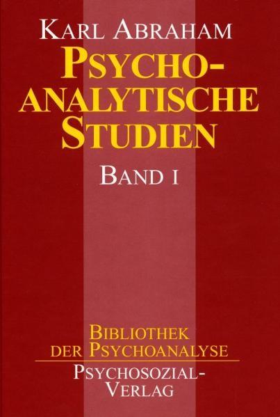 Psychoanalytische Studien   Abraham, 1999   Buch (Cover)