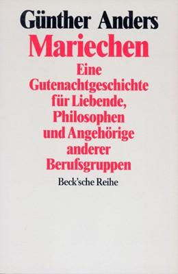 Abbildung von Anders, Günther | Mariechen | 2. Auflage | 1993 | 1013 | beck-shop.de