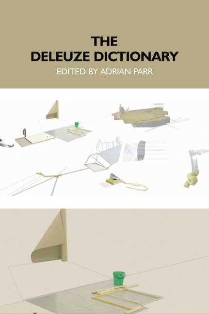 Abbildung von Parr | The Deleuze Dictionary | 2005