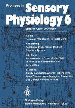 Abbildung von Progress in Sensory Physiology | 2011 | 6