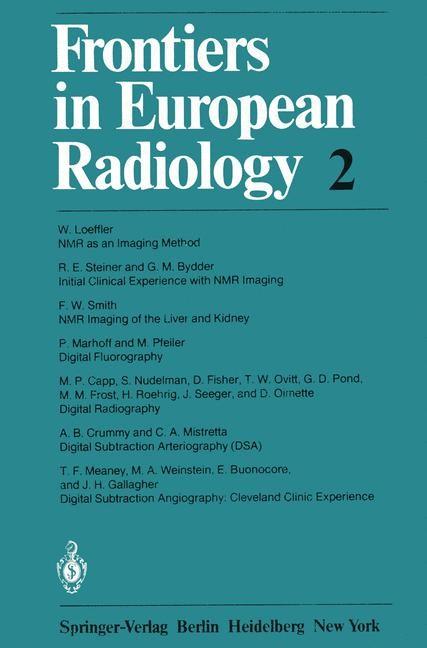 Abbildung von Frontiers in European Radiology | 2012