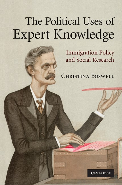 Abbildung von Boswell   The Political Uses of Expert Knowledge   2009