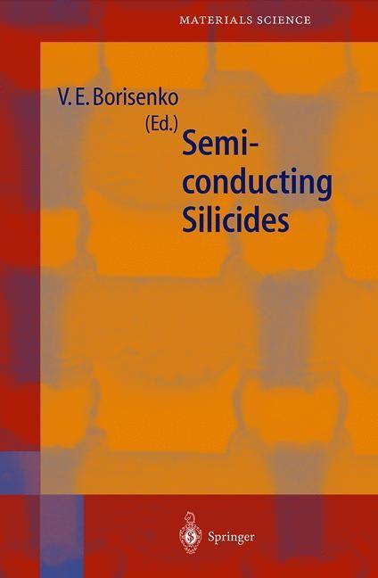 Semiconducting Silicides | Borisenko, 2011 | Buch (Cover)