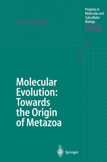 Molecular Evolution: Towards the Origin of Metazoa | Müller, 2011 | Buch (Cover)