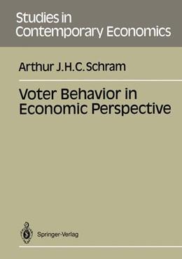 Abbildung von Schram   Voter Behavior in Economics Perspective   1991