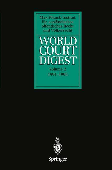 Abbildung von World Court Digest   2011