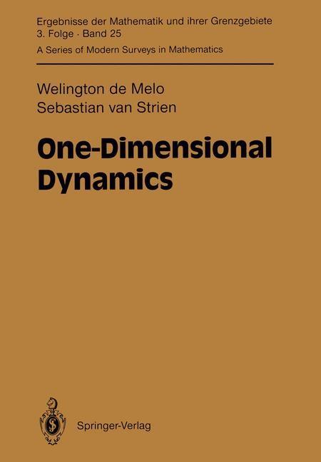 Abbildung von Melo / Strien | One-Dimensional Dynamics | 2011
