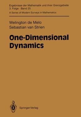 Abbildung von Melo / Strien   One-Dimensional Dynamics   2011   25