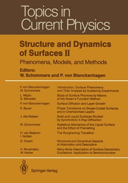 Abbildung von Schommers / Blanckenhagen | Structure and Dynamics of Surfaces II | 1. Auflage | 2012 | 43 | beck-shop.de