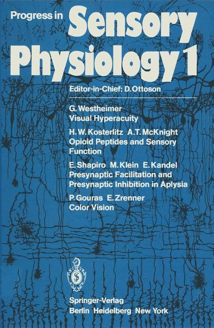 Progress in Sensory Physiology, 2011 | Buch (Cover)