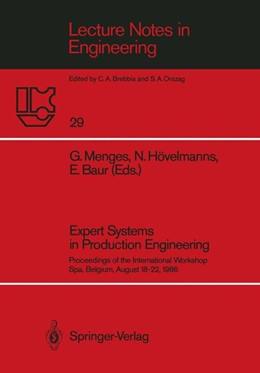 Abbildung von Menges / Hövelmanns / Baur | Expert Systems in Production Engineering | 1987 | Proceedings of the Internation... | 29