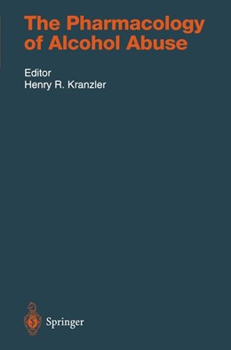 Abbildung von Kranzler | The Pharmacology of Alcohol Abuse | 2011 | 114