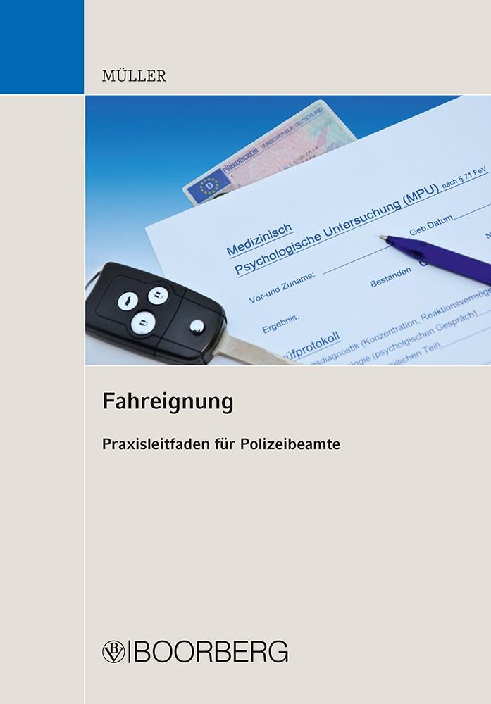 Fahreignung   Müller, 2012   Buch (Cover)