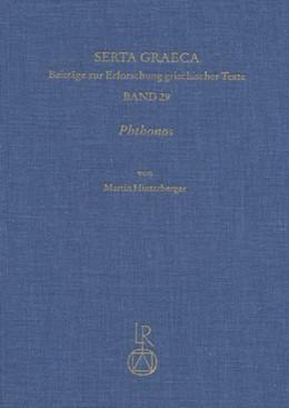 Abbildung von Hinterberger | Phthonos | 2013 | Mißgunst, Neid und Eifersucht ... | 29