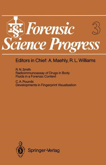 Abbildung von Forensic Science Progress | 2011