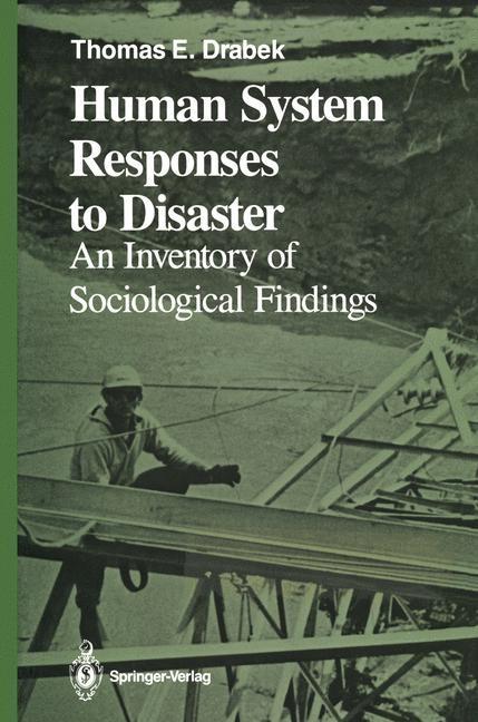 Abbildung von Drabek   Human System Responses to Disaster   2011
