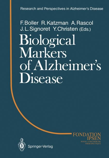 Abbildung von Boller / Katzman / Rascol / Signoret | Biological Markers of Alzheimer's Disease | 2012