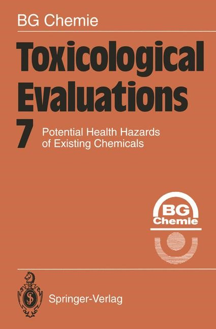 Abbildung von Toxicological Evaluations | 2011