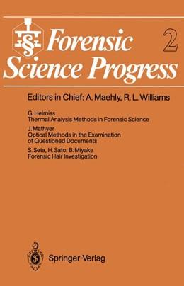 Abbildung von Forensic Science Progress | 2011 | 2