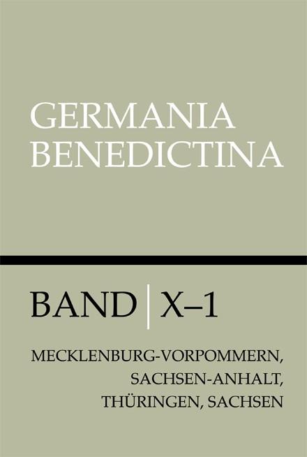 Die Männerklöster der Benediktiner in Mecklenburg, Vorpommern, Sachsen-Anhalt, Thüringen und Sachsen | / Römer, 2012 | Buch (Cover)